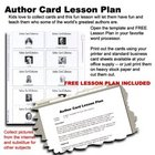 Author Cards Lesson Plan