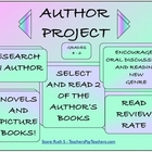 Author Project Books and Picture Books