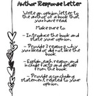 Author Response {Common Core Writing Activity}
