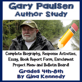 Author Study #2: Gary Paulsen w/ Reading/Writing Activitie