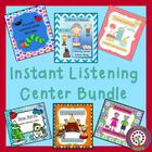 Author Study - 6 Instant Listening Center Pack - QR Coded