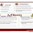 Author Study: Jeff Kinney
