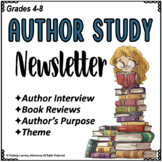 Author Study Newsletter