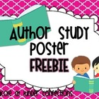 Author Study Poster {FREEBIE}