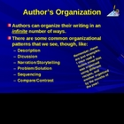 Author's Organization Intro PPT Power Point