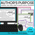 Author's Purpose: Common Core for 3rd Grade