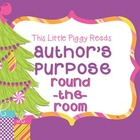 Author's Purpose {PIE} Round-the-Room Activity  (CCSS/TEKS
