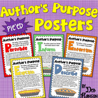 Author's Purpose PIE'ED Posters