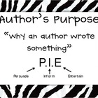 Author's Purpose Signs/Charts