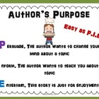 Author's Purpose for Elementary Students: Easy as Pie