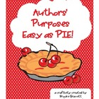 Authors' Purposes...Easy as PIE!