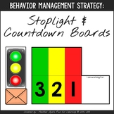 Countdown & Stoplight Boards {Transition Strategy for Kids
