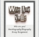 Autobiography/Biography Assignment