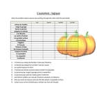 Automne Autumn Activities FRN