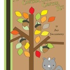 Autumn Acorn and Squirrel Contractions Center Activity Kit