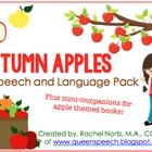 Autumn Apples {Speech and Language Pack} and mini-book companions