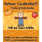 Autumn Celebration Math and Science Activities for Fall