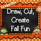 Draw Cut Create Fall Fun Pack