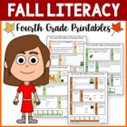 Autumn Fun Quick Common Core Literacy (4th grade)