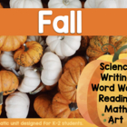 Autumn Unit Plan