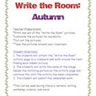 Autumn-Write the Room Activity