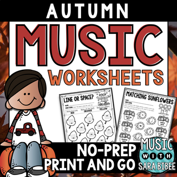 Autumnn and Fall Music Activities- 68 Page Mega-Pa