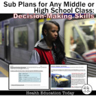 """Sub Plans for Any Middle/High School Class: """"Avoiding Dang"""