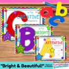 Awards {end of school or any time classroom awards}