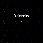 Awesome Adverbs Powerpoint
