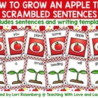 Awesome Apples Scrambled Sentences