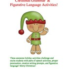 Awesome Christmas Figurative Language & Grammar Activities