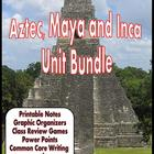 Aztec, Maya, Inca Unit Packet