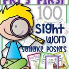 BACK TO SCHOOL FRY'S FIRST 100 SIGHT WORD SENTENCE CARDS F