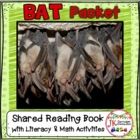 BATS! 1-2, Bats For You! Literacy & Math {Common Core Conn