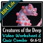 BBC Life - Creatures of the Deep - Video Questions Workshe