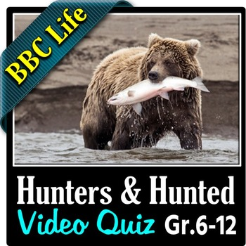 Life - HUNTERS AND HUNTED - Video Quiz {Editable}