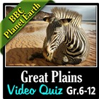 BBC Planet Earth - GREAT PLAINS Episode - Video Quiz