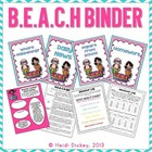 B.E.A.C.H Binder Kit: Editable