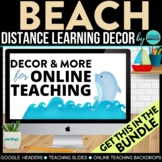 BEACH THEME BUNDLE-classroom theme {printables)