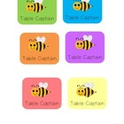 BEE table captain signs