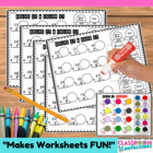 BINGO Dauber Math for Upper Elementary {two digit x 1 digi