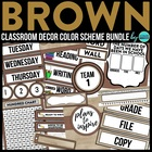 BLACK CHEVRON Classroom Color Scheme / Theme EDITABLE (33