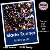 BLADE RUNNER Ridley Scott film Teacher Text Guides/Worksheets