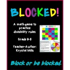 BLOCKED: Middle School Math Game for Divisibility Rules (G