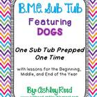 B,M,E Sub Tub {Prep Once, Have Emergency Plans All Year!}
