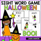 BOO! A Spooky Sight Word Game