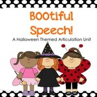 BOOtiful Speech! A Halloween Themed Articulation Unit