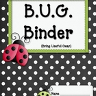 BUG Binder Starter Kit