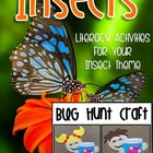 BUGS! A Bundle Of Literacy Activities & A Craftivity!