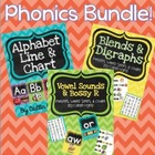 BUNDLE - Alphabet, Blends, Digraphs, & Vowel Sounds